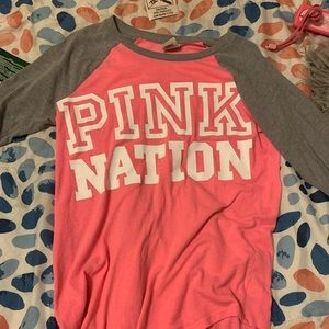 Victoria secret long sleeved shirt